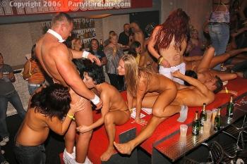 hardcore party porno